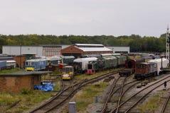 Погост поезда Стоковые Изображения RF