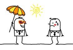 погода вспомогательного оборудования солнечная Стоковая Фотография RF
