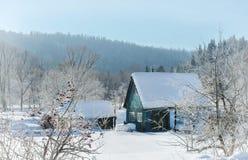 Погода в деревне стоковое изображение rf