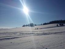 Погода зимы Стоковые Изображения