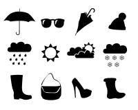 Погода одежд Стоковая Фотография