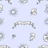погода установленная иконами Стоковая Фотография RF