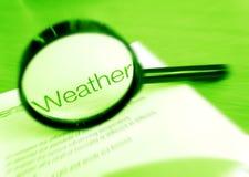 погода фокуса Стоковая Фотография RF
