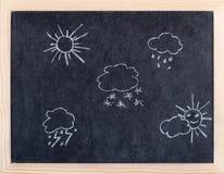 погода элемента Стоковое Изображение