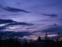 Погода Coludy Стоковая Фотография RF
