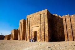 Погребальный комплекс Djoser (Zoser) Стоковая Фотография RF
