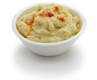 Погружение Hummus Стоковое Изображение RF