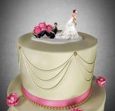 Поглощенный замужеством стоковые изображения