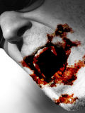 подавая вампир Стоковое фото RF