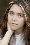 подавленная девушка предназначенная для подростков стоковое фото