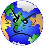 подавленная мать земли Стоковое фото RF