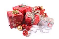 подарки белые стоковые фотографии rf