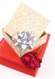 подарки годовщины стоковые изображения rf