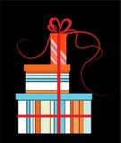 подарки дня рождения иллюстрация вектора