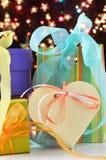 Подарки Кристмас Стоковые Изображения RF