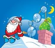 Подарки от Santa Claus иллюстрация вектора