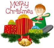 подарки рождества иллюстрация штока