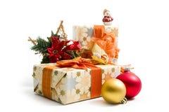 подарки рождества стоковые фотографии rf