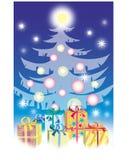 подарки рождества Бесплатная Иллюстрация