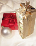 подарки рождества Стоковые Изображения RF