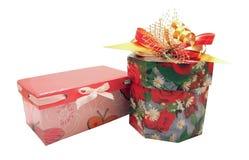 подарки 2 рождества Стоковая Фотография