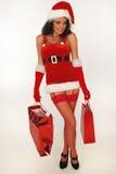 подарки santa сексуальный Стоковое Фото