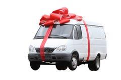 подарок автомобиля Стоковая Фотография