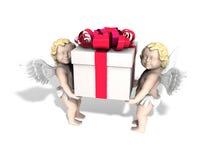 подарок ангела Стоковая Фотография