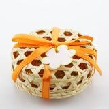 Подарок венчания сделанный бамбуком Стоковое Фото
