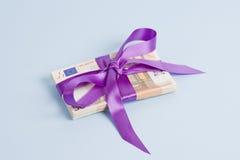 подарок евро Стоковое Изображение