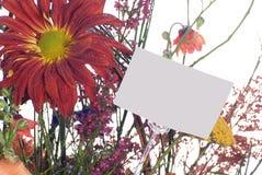 подарок карточки корзины Стоковое Изображение