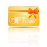 подарок карточки Стоковое Изображение RF