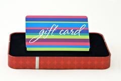 подарок карточки Стоковая Фотография RF