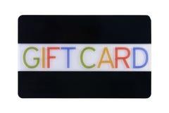 подарок карточки Стоковое фото RF