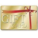подарок карточки Стоковое Изображение