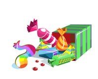 подарок конфеты Бесплатная Иллюстрация