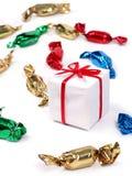 подарок конфет Стоковые Фото