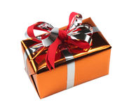 подарок коробки изолировал Стоковое Изображение RF