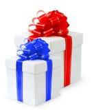 подарок коробки причудливый Стоковое фото RF