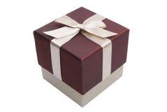 подарок коробки смычка Стоковые Фото