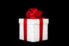 подарок коробки я тебя люблю Стоковое Изображение RF