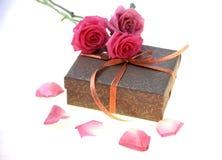 подарок коробки Стоковые Изображения RF