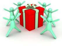 подарок коробки Стоковое Фото