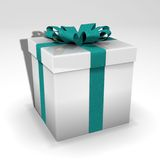 подарок коробки 3d Стоковое Изображение RF