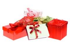 подарок коробок мешков Стоковые Фотографии RF