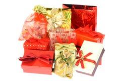 подарок коробок мешков Стоковое Изображение RF