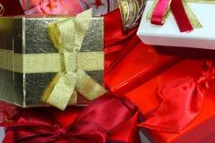 подарок коробок мешков Стоковое Фото
