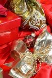 подарок коробок мешков Стоковая Фотография