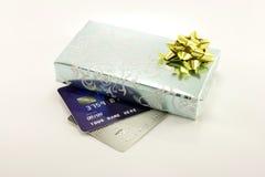 подарок кредита карточек Стоковые Изображения