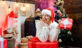 Подарок Кристмас Новый Год красивейшая сь женщина рождество моя версия вектора вала портфолио вал рождества домашний Атмосфера ро стоковые фотографии rf